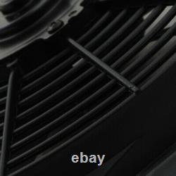 12v ALLOY ELECTRIC RADIATOR RAD FAN SHROUD FOR SUBARU IMPREZA GDA 2.0 WRX STI