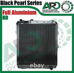 2 Core Full ALLOY Radiator FOR TOYOTA Hilux Surf 3.0L TD Import Manual 1997-2002