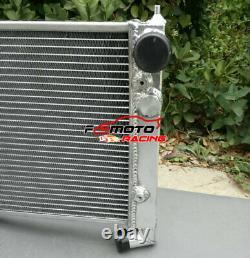 2 ROW Aluminum Radiator for Volkswagen VW Golf 2 & Corrado VR6 Turbo Manual MT