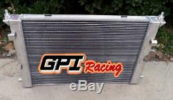 2 ROW Aluminum radiator for Land Rover Discovery II 2 2.5 Td5 4x4 1999-2004 MT