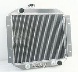 2 Row Alloy Aluminium Radiator For Ford Escort 1968-1980 AT/MT 1969 1970