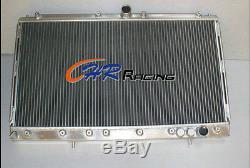 2 row ALUMINUM RADIATOR FOR MITSUBISHI 3000GT 3000 GT GTO VR4 Manual MT
