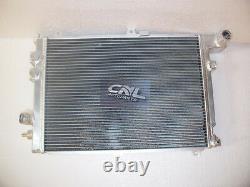 2ROW Alloy Aluminum Radiator FOR Opel Vauxhall Calibra Turbo C20LET 2.0 2.0i MT