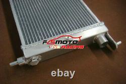 2ROW Aluminum Radiator For Opel Vauxhall Corsa B GSI Turbo C20XE C20LET 93-99 MT