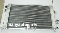 2ROWS Opel Vauxhall Astra VXR Z20LEH Turbo Engine Alloy Aluminum Radiator + FANS