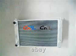 2Row ALUMINUM RADIATOR VW CORRADO SCIROCCO JETTA GOLF GTI MK2 1.8 16V 1986-1992