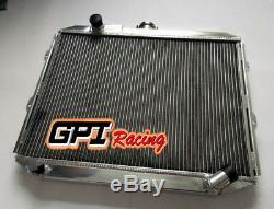 2row For Mitsubishi Pajero L04 G, L14 G 2.5 Td Aluminum Radiator
