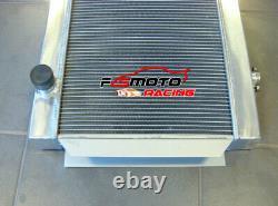 3 CORE ALLOY ALUMINUM RADIATOR FOR holden V8 chevy motor universal Manual MT