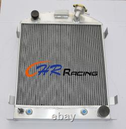 3 Core Aluminum Alloy Radiator Suit For 1932 Ford Chopped Chevy Engine At 32