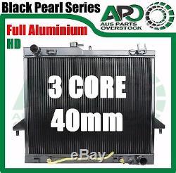 3 Core Full Alloy Radiator ISUZU D-MAX 3.0L 4JJ1-TC Diesel Auto Manual 2007-2012