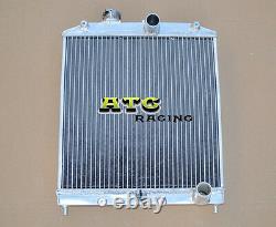 3 ROW 52MM Aluminum Radiator for 1992-2000 Honda CIVIC EG EK B16 B18 32MM PIPE