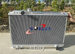 3 ROW Aluminum Radiator TOYOTA SUPRA MK3 SOARER MZ20 7M-GTE Manual 1986-1992