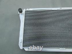 3 ROW For Ford EF EF2 EL NF NL DF DL Falcon Fairline Aluminum Alloy Radiator