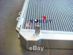 3 ROW Toyota Hilux surf KZN130 1KZ-TE 3.0 TD 1993-1996 Aluminum Radiator