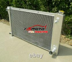 3 Row ALUMINUM RADIATOR FOR 67-72 CHEVY TRUCK C10/C20/C30/K10/K20 CK-SERIES AT