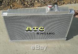 3 Row All Aluminum Radiator For Toyota Supra Soarer Mk3 Ma707m-gte 3.0l Mt