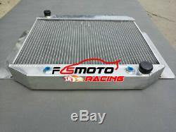 3 Row Alloy Radiator + Fan For HOLDEN Kingswood HD HR HK HT HG 6cyl 1966-1970 AT