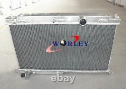 3 Row Aluminum Alloy Radiator Mazda Rx7 Fd3s Mt 1992 1993 1994 1995 92 93 94