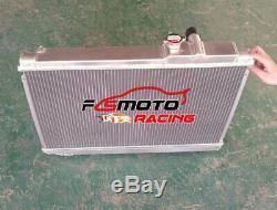 3 Row For Toyota Supra Soarer Mk3 Ma707m-gte 3.0l 1986-92 Mt Aluminum Radiator
