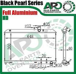 3 Row Full Alloy Radiator MAZDA RX8 FE Auto & Manual 4/2003-On