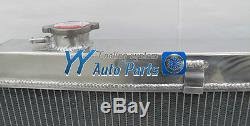 3 core Alloy Holden HQ HJ HX HZ Kingswood V8 aluminum RADIATOR