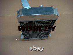 3 core aluminum radiator for TRIUMPH TR2 / TR3 / TR3A / TR3B manual