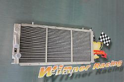 32mm Aluminum Alloy Radiator Radiateur Renault 21 R21 2.0 TURBO M/T 1987-1993
