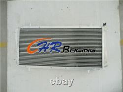 3ROW Aluminum Radiator ROVER/MG MGF/MG Metro Roadstar 16V turbo 1995-2000