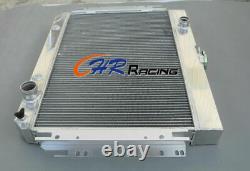 4 ROW Aluminum Radiator FOR Chevy Impala L6 V8 1963-1968 /EI Camino 1964-1967