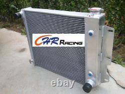 4 row Aluminum Radiator for Jeep Wrangler TJ YJ/V8 Conversion 1987-1995 97-02 AT