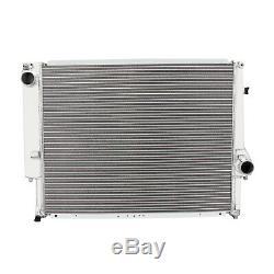 40MM Dual Core ALUMINIUM ALLOY RAD RADIATOR FOR BMW 3 SERIES E36 M3 3.2 M/T