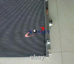 40MM aluminum radiator Mitsubishi Pajero/Shogun NM-NT 3.2L DID diesel V6 AT 00