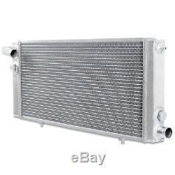 40mm ALLOY ALUMINIUM RACE RADIATOR RAD FOR PEUGEOT PUG 205 309 1.6 1.9 GTI 8V
