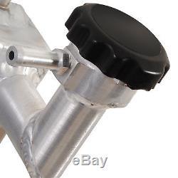 40mm ALUMINIUM ALLOY TWIN CORE RACE RADIATOR RAD FOR MITSUBISHI COLT CZC TURBO