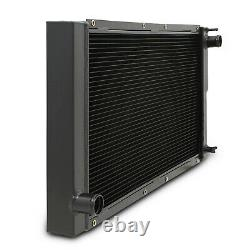 40mm ALUMINIUM BLACK SPORT ENGINE RADIATOR RAD FOR SUBARU IMPREZA CLASSIC GC8