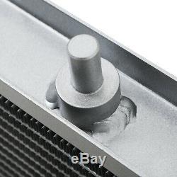 40mm ALUMINIUM SPORT RADIATOR RAD FOR ROVER MG TF MGTF 115 120 135 160 1.6 1.8