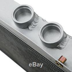 40mm ALUMINIUM TWIN CORE RACE RADIATOR FOR SUBARU IMPREZA CLASSIC WRX GC8 TURBO