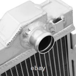 40mm ALUMINIUM TWIN CORE SPORT COOLING RADIATOR FOR BMW 3 SERIES E30 M3 81-94
