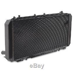 40mm BLACK ALUMINIUM ALLOY RADIATOR RAD FOR TOYOTA MR2 MR-2 SW20 2.0 TURBO 90-95