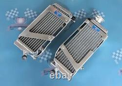 40mm Left+Right Aluminum Alloy Radiator Fit KTM 250/350/450 SXF/SX-F 2007-2015