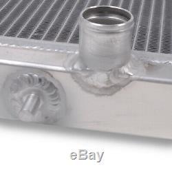 40mm TWIN CORE ALUMINIUM ALLOY RACE RADIATOR RAD FOR MITSUBISHI FTO 1.8 2.0 94+