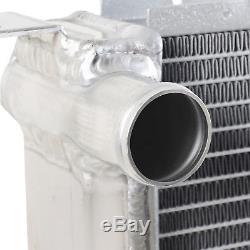 40mm TWIN CORE ALUMINIUM ALLOY RADIATOR RAD FOR FORD FIESTA MK3 RS 1.6 TURBO