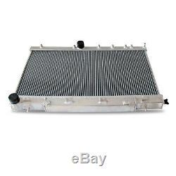 42MM ALUMINIUM RADIATOR fits SUBARU IMPREZA BUGEYE 2.0 TURBO WRX ALLOY RAD 01-03