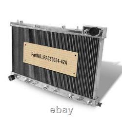 42MM Aluminum Race Radiator fits SUBARU FORESTER 97-02 2.0L 16V