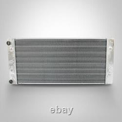 42MM Aluminum Radiator fit VW GOLF MK3 VR6 GTI POLO 6N LUPO VENTO 1.0 1.4 1.6