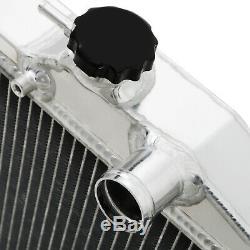 42mm ALUMINIUM RACE SPORT RADIATOR RAD FOR TOYOTA LEXUS SOARER JZZ30 2.5 1JZ GTE