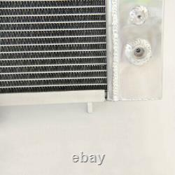 42mm Full Aluminum Race Radiator Fit Land Rover Discovery Defender 300 2.5 Tdi