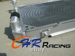 4ROW Aluminum radiator+FANS Nissan Patrol Gq 2.8 4.2 Diesel Td42&3.0 Petrol Y60