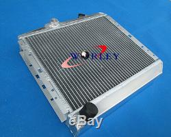 50mm Aluminum Alloy Radiator Renault 5 Super 5/r5 9/11 Gt Turbo Mt 1985-1991 86