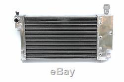 50mm Aluminum Radiator fits PEUGEOT 106 GTI RALLYE/CITROEN SAXO/VTR VTS 91-2001